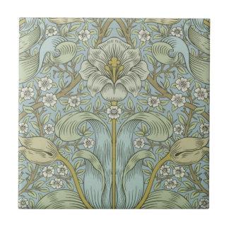 William Morris Vintage Spring thicket Floral Desig Tile