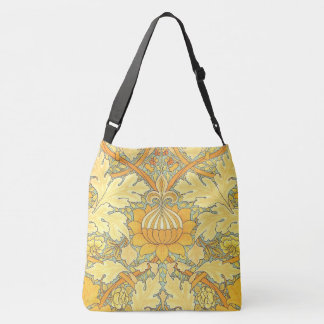 William Morris Wallpaper for St. James Place Crossbody Bag