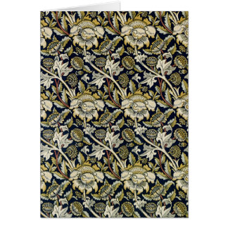 "William Morris ""Wey Chintz"" Card"