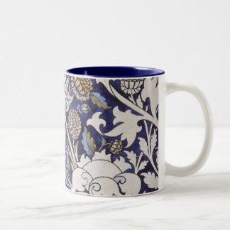 william morris wey Two-Tone coffee mug