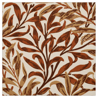 William Morris Willow Bough, Brown and Beige Fabric