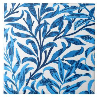 William Morris Willow Bough, Cobalt Blue & White Ceramic Tiles