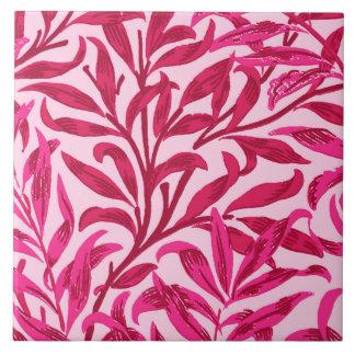 William Morris Willow Bough, Fuchsia Pink Tile