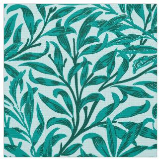 William Morris Willow Bough, Turquoise and Aqua Fabric