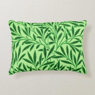 William Morris Willow Pattern, Light Jade Green Decorative Pillow