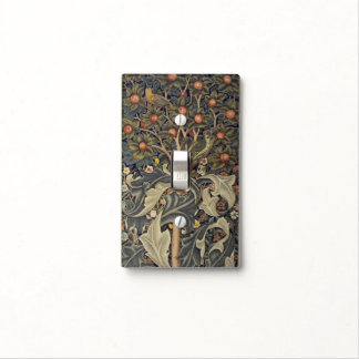 William Morris Woodpecker Light Switch Cover
