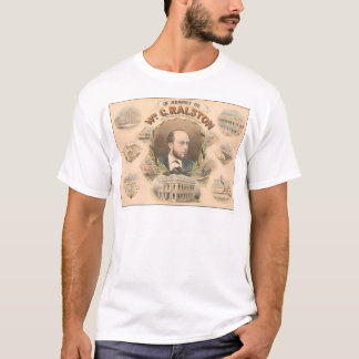 William Ralston, President of Bank of CA. (1384A) T-Shirt