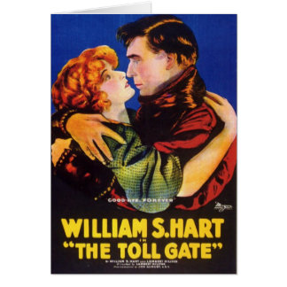 William S. Hart Toll Gate movie poster Card