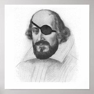 William Shakesbeard Poster