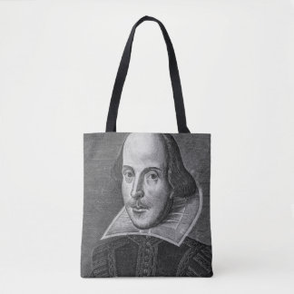 William Shakespeare 1623 Tote Bag