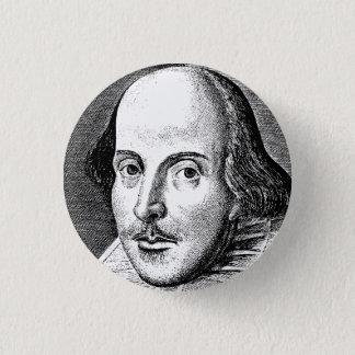 William Shakespeare 1 Inch Round Button