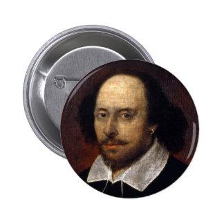 William Shakespeare 2 Inch Round Button