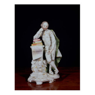 William Shakespeare, based on the monument Postcard