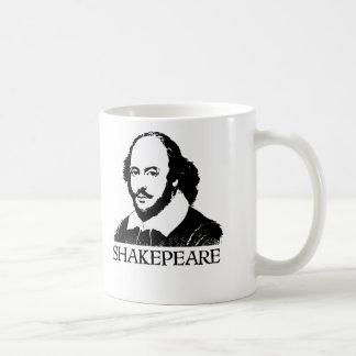 William Shakespeare Classic White Coffee Mug