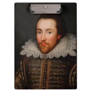 William Shakespeare Clipboard