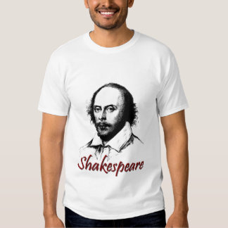 William Shakespeare Etching T-shirt