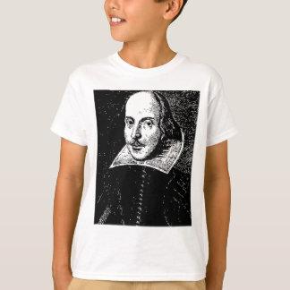 William Shakespeare Face T-Shirt