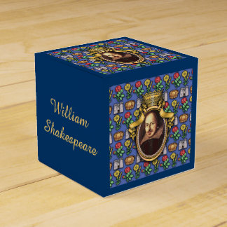 William Shakespeare Favor Box