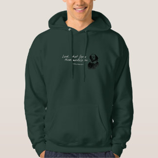 William Shakespeare Fools Quote Funny Teacher Gift Hoodie