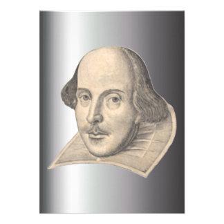 William Shakespeare Invitation