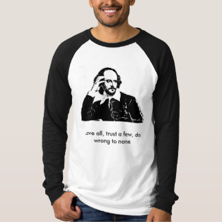 William Shakespeare - Long sleeve t-shirt