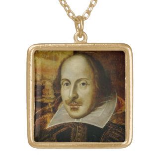 William Shakespeare Necklace