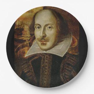 William Shakespeare Plates Set