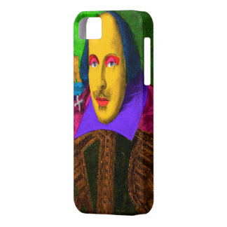 William Shakespeare Pop Art iPhone 5 Cover