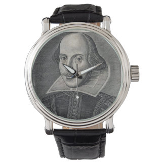 William Shakespeare Portrait Watch