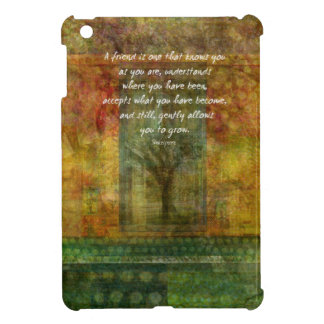 William Shakespeare QUOTE about friendship iPad Mini Cover