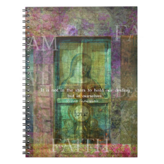 William Shakespeare quote ABOUT LOVE Spiral Note Book