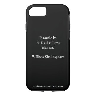 William Shakespeare Quote - Love iPhone 7 Case