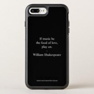 William Shakespeare Quote - Love OtterBox Symmetry iPhone 8 Plus/7 Plus Case