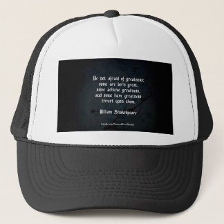 William Shakespeare Quote Trucker Hat
