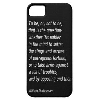William Shakespeare`s `Hamlet` iPhone 5 Case