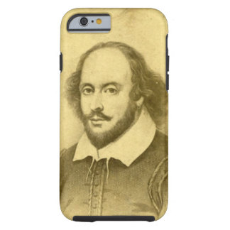 William Shakespeare Tough iPhone 6 Case