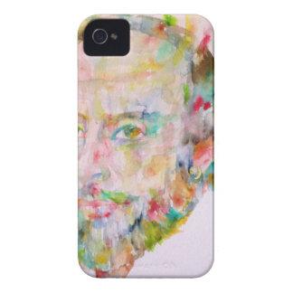 william shakespeare - watercolor portrait.1 iPhone 4 case
