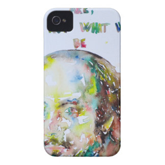 william shakespeare - watercolor portrait.2 Case-Mate iPhone 4 case