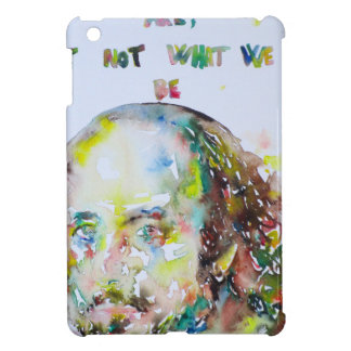 william shakespeare - watercolor portrait.2 iPad mini cover