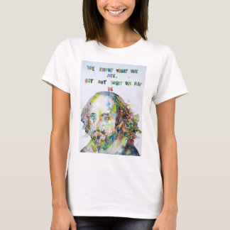 william shakespeare - watercolor portrait.2 T-Shirt