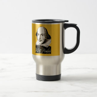 William Shakespeare Will Power T shirt Mugs