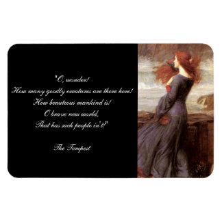William Shakespeare's The Tempest Quote Magnet
