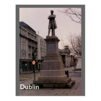 William Smith O'Brien Monument, Dublin, Ireland Postcard