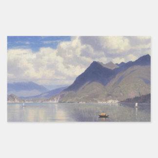 William Stanley Haseltine - Lago Maggiore Sticker
