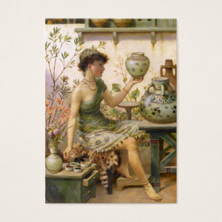 William Stephen Coleman: The Potter's Daughter Business Card