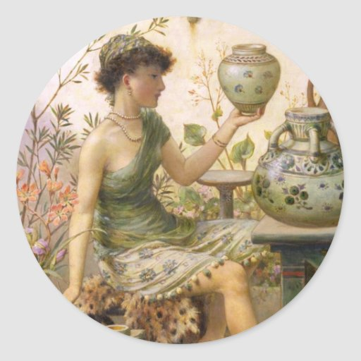 William Stephen Coleman: The Potter's Daughter Sticker