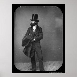 William Sydney Mount Daguerreotype 1853 Poster