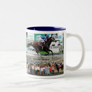 William T. 5-30-09 Tall Two-Tone Coffee Mug