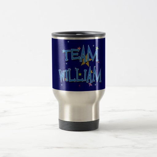 WILLIAM Team William Mug