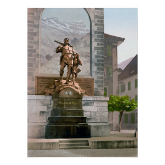 William Tell Monument Poster
